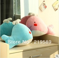 Cute Whale plush toy,Pillow,two colors,Free shipping