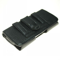 HK post free shipping High Quality Leather Belt Clip Case Cover Pouch For Iphone 5 5g Cell Phone Accessories