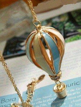 wholesale beautiful balloon Alloy Pendant Necklace,free shipping KX0464064