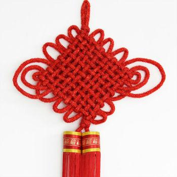 Chinese knots lanterns Chinese characteristics