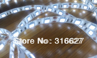 Free HK Parcel shipping 12V ribbon strip lights / led lightings 5050 SMD 300leds 5M/Roll Waterproof