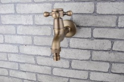Fashion antique copper bibcock washing machine faucet(China (Mainland))