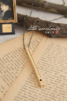 Antique hand for whistle necklace whistle fashion