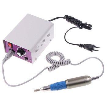 Free shipping 1pcs/set Electric Nail Manicure Polishing Machine Drill File Machine with Foot Pedal 220V, EU Plug