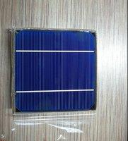 A Grade 125mm*125mm (5') monocrystalline solar cell 2.85W  18.5%Eff   +Enough tabbing wire and busbar
