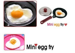 Free shipping by China post-2pc,Mini bear Shaped Egg Fry Frying Pan, Cook pan ,Non-Stick,best-selling(China (Mainland))