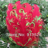 20PCS cute baby headband feather pad+DIY nagorie curled feather pad