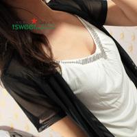 Fashion women's e18 MINNIE all-match boring spaghetti strap little vest modal spaghetti strap vest
