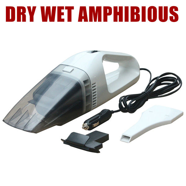 FREE SHIPPING Car Vacuum Cleaner wet and dry dual-use 60w high power Auto vacuum dry wet amphibious wireless king smart ON SALE(China (Mainland))