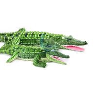 Free Shipping Wholesale Retail105cm Crocodile Plush Stuffed Animal Doll Toy Pillow Cushion Novel Gift children's Toys Present