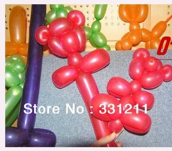 factory wholesale price!  best quality best price! medium  inflated size 100cm long balloons,200pcs