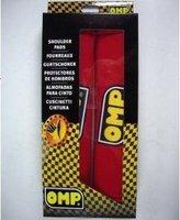 OMP Red Seat Belt Shoulder Pads, Shoulder Protector-Free Shipping!