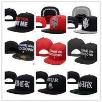 Sneaktip Hat Fuckdown Baseball Cap SSUR Hip Hop Snapback Hat Wholesale Cheap Price Hat Mix Order
