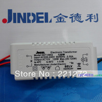 Electronic transformer, 220-240V, AC12V, 120W certification, halogen lamp and quartz cup with
