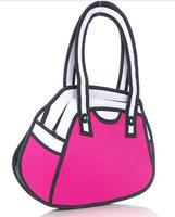 Free Shipping women bag HOT Gismo quality goods! Taiwan secondary yuan A6 cartoon bag  3D bags  Shoulder Messenger Bag  cartoon