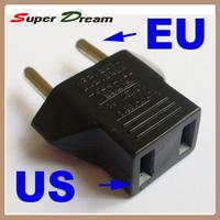 wholesale US to EU AC Power Plug Travel Converter Adapter free shipping