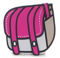 Free Shipping women bag HOT Gismo quality goods! Taiwan secondary yuan A7 cartoon bag  3D bags  Shoulder Messenger Bag  cartoon