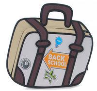 Free Shipping women bag HOT Gismo quality goods! Taiwan secondary yuan A13cartoon bag  3D bags  Shoulder Messenger Bag  cartoon