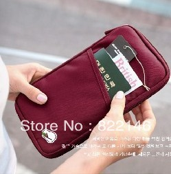 Free shipping New Travel Passport Credit ID Card Cash Holder Organizer Wallet Purse Case Bag Mutil fuction carry bag