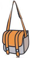Free Shipping women bag HOT Gismo quality goods! Taiwan secondary yuan A3 cartoon bag  3D bags  Shoulder Messenger Bag  cartoon