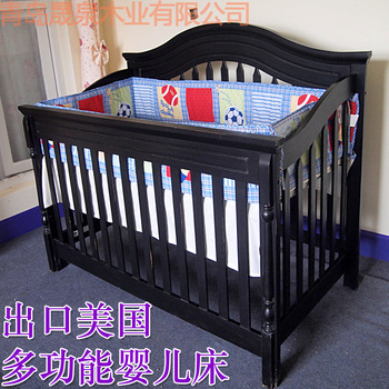 Simplicity baby bed solid wood child bed three drawer cabinet three drawer cabinet