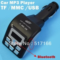 Car Kit MP3 Bluetooth Handsfree FM Modulator Black