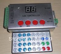 IR LED SD card pixel controller,max 8192pixels(2048pixels*4ports)controlled