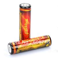 Free shipping 2pcs/Lot TrustFire 18650 3000mAh Protected Li-ion Batteries