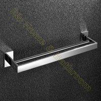 SS304 Stainless Steel Material Bathroom Double Towel Bar / Bathroom Accessories-T7.002BP