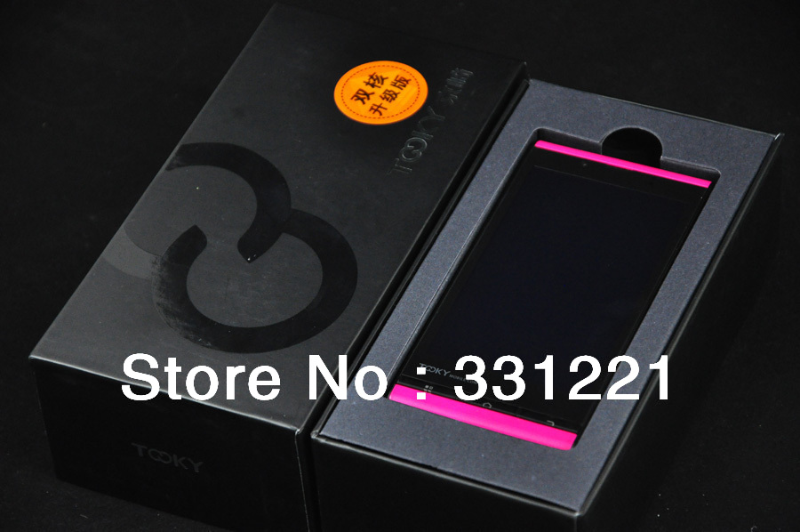 2013 New Model colorful Gorgeous body android4.0 cheap mobile phone and Original Smartphones Free Shipping!(China (Mainland))