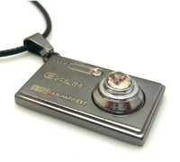 Min.order is $10 (mix order) New style fashion personality camera necklace for men/women N0135