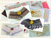 women cotton lace many color size sexy underwear/ladies panties/lingerie/bikini underwear pants/ thong/g-string DZ025-8pcs