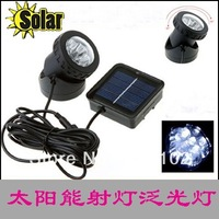 solar landscape light outdoor waterproof 6 pcs led  solar flood light garden lights outdoor light