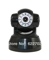Wireless IP Indoor Camera support smartphone and monitor control