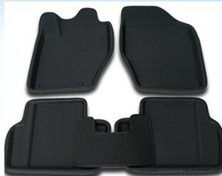 Pulchritudinous 307 manual 307 mat car mats slip-resistant waterproof 3d stereo(China (Mainland))
