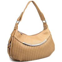 2013 quality pleated women's handbag portable one shoulder cross-body women's big bag