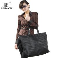 free shipping Big capacity shopping bag shoulder bag waterproof material fashion shopping bag