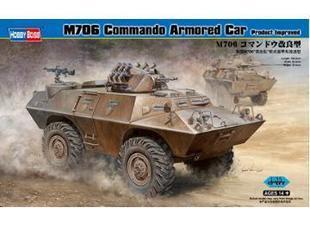 Hobby Boss 82419 1/35 M706 Commando Armored Car Product Improved plastic model kit(China (Mainland))