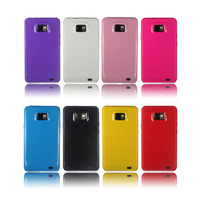 Promotion Price! 1PC Soft Gel TPU Silicone Back Case Cover For Samsung I9100 Galaxy SII S2, 8 Color Available, Free Shipping