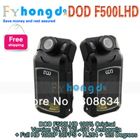 In stock !86.99$ free shipping 100% Original DOD F500LHD  Version V5.13 T2L-GH with Ambarella + Full HD 1080P 30FPS + H.264