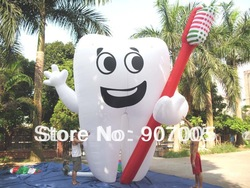 AD05 20&#39; Inflatable Tooth Advertising Dentist Ad Health Promotion(China (Mainland))