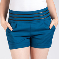 Free Shipping! New Spring And Autumn Korean Fashion Loose Big Size  Yards Women's Leisure Shorts