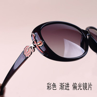 brand prescription eyeglasses Elegant aesthetic ! fashion 2013 gradient color sun glasses women's polarized sunglasses