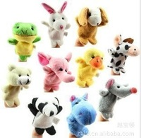 NEW hot Models Animal Finger Puppet, Finger toy, finger doll, baby dolls lovely  10pcs/lot wholesale