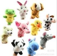 NEW hot Models Animal Finger Puppet, Finger toy, finger doll, baby dolls lovely  10pcs/lot wholesale