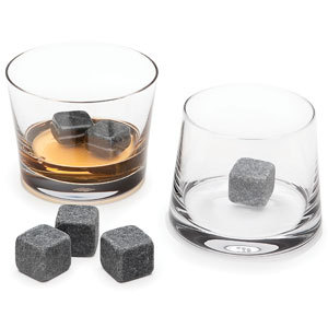 Bling Recommend Free Shipping 9pcs/lot Whisky Stone Ice Melts With Velvet Storage Pouch(China (Mainland))