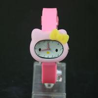 free shipping -- Fashion kids quartz Watches Hello Kitty Watch , 10 colors