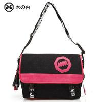 free shipping 2013 new arrival  messenger bag canvas bag female bag male big casual sports messenger bag