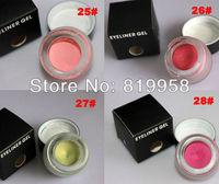 Hot!! 4 Colors Red Eye Liner Gel