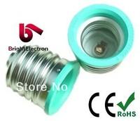 Free shipping, Hot selling, Ceramic Socket E40 TO E27 lamp holder base E27 adapter E40 converter Socket ceramic material Socket
